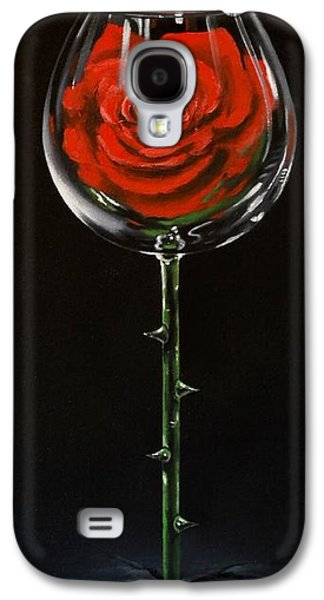 Wine Art Paining Galaxy S4 Cases - Conceal Galaxy S4 Case by Ksusha Scott
