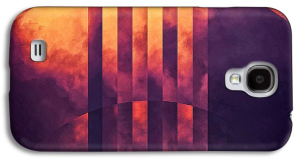 Abstract Movement Galaxy S4 Cases - Concept Of Meditation Galaxy S4 Case by LC Bailey