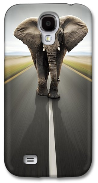 Concept Photographs Galaxy S4 Cases - Conceptual - Heavy duty transport / travel by road Galaxy S4 Case by Johan Swanepoel