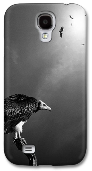 Money Galaxy S4 Cases - Conceptual - Vultures awaiting Galaxy S4 Case by Johan Swanepoel