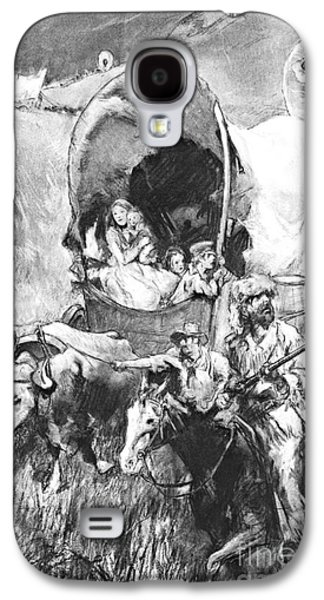 Conestoga Wagons 1890 Galaxy S4 Case by Padre Art