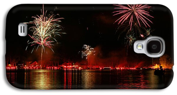 Recently Sold -  - 4th July Galaxy S4 Cases - Conesus Ring Of Fire Galaxy S4 Case by Richard Engelbrecht