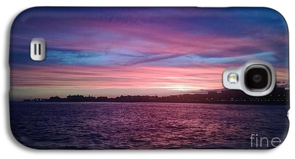 Boats In Reflecting Water Galaxy S4 Cases - Coney Island Summertime Sunset Galaxy S4 Case by John Telfer