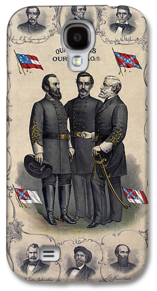 Confederate Leaders, C1896 Galaxy S4 Case by Granger
