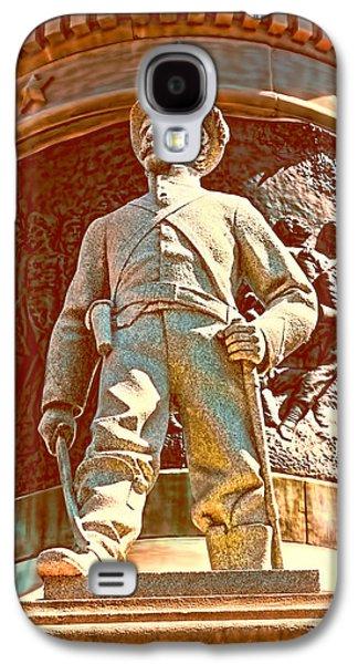 Confederate Soldier Statue I Alabama State Capitol Galaxy S4 Case by Lesa Fine