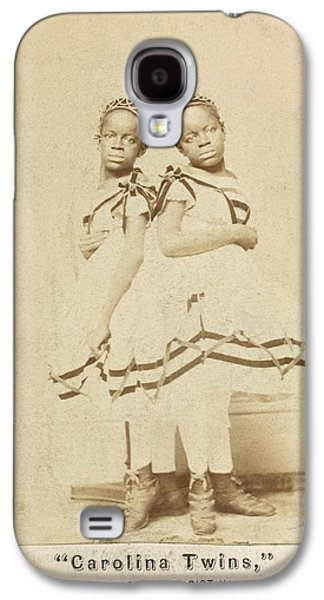 Conjoined Twins Galaxy S4 Case by Library Of Congress