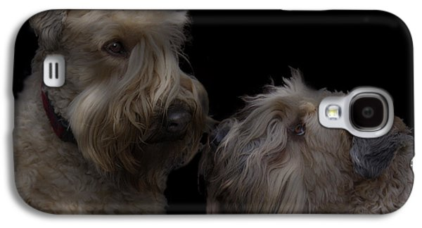 Recently Sold -  - Puppy Digital Galaxy S4 Cases - Conor and Bailey - Puppy love Galaxy S4 Case by Kevin Doty