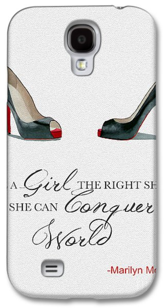 Conquer The World Galaxy S4 Case by Rebecca Jenkins