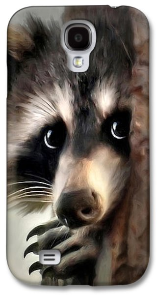 Rollosphotos Digital Art Galaxy S4 Cases - Conspicuous Bandit Galaxy S4 Case by Christina Rollo