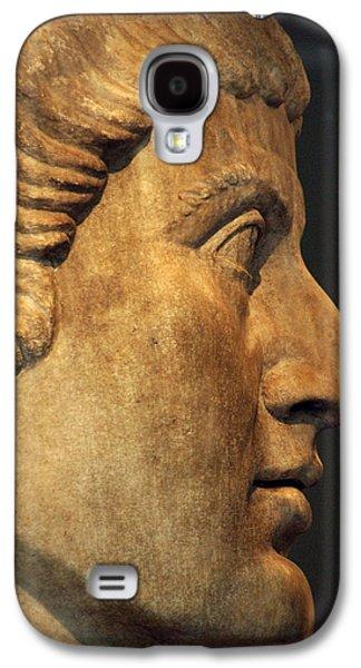4th Galaxy S4 Cases - Constantine I, The Great 272-337. Roman Emperor Galaxy S4 Case by Bridgeman Images