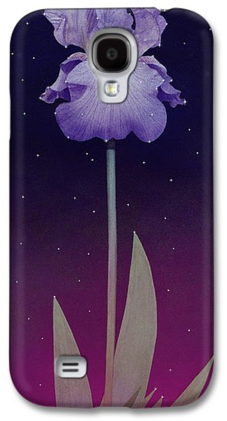 Constellations Paintings Galaxy S4 Cases - Constellation Iris Galaxy S4 Case by Tom Owen