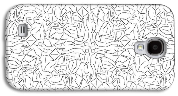 Constellations Drawings Galaxy S4 Cases - Constellations Galaxy S4 Case by Smith and Ford