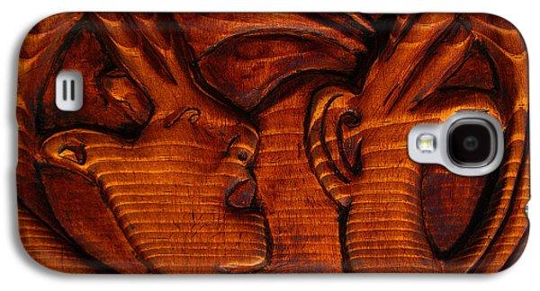 Sun Sculptures Galaxy S4 Cases - Constructive Conflict Galaxy S4 Case by Carlo Olkeriil