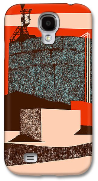 Printmaking Drawings Galaxy S4 Cases - Container Galaxy S4 Case by Eliza Southwood