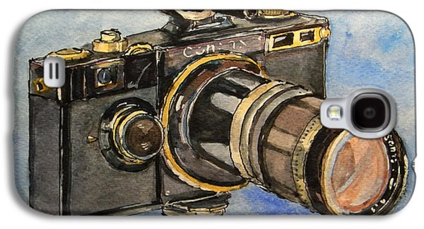 Analog Galaxy S4 Cases - Contax I Galaxy S4 Case by Juan  Bosco