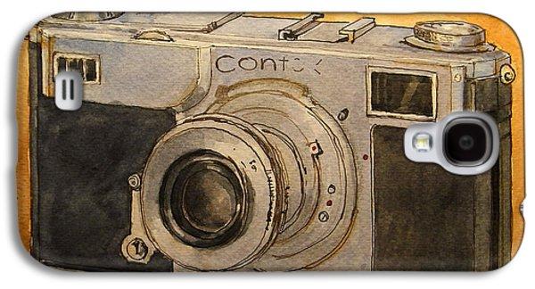 Analog Galaxy S4 Cases - Contax II Galaxy S4 Case by Juan  Bosco