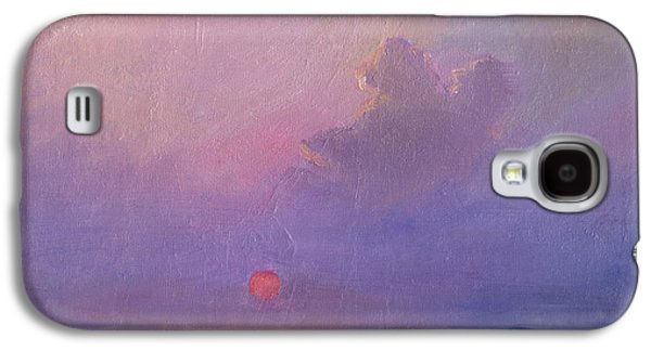 Abstract Prints For Sale Paintings Galaxy S4 Cases - Contemplation at Sunset Galaxy S4 Case by Svetlana Novikova