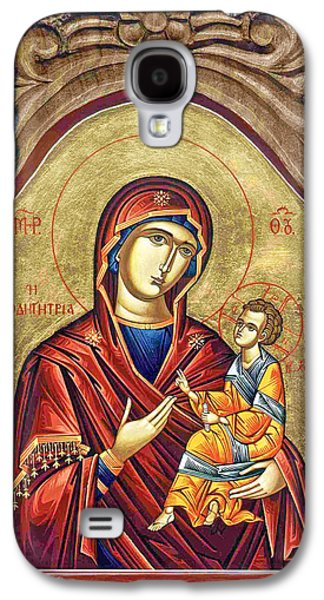 Orthodox Icon Galaxy S4 Cases - Conversation Galaxy S4 Case by Munir Alawi
