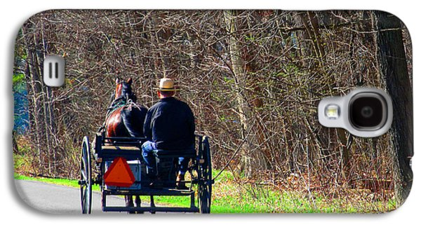 Amish Community Photographs Galaxy S4 Cases - Convertible Made Easy Galaxy S4 Case by Tina M Wenger