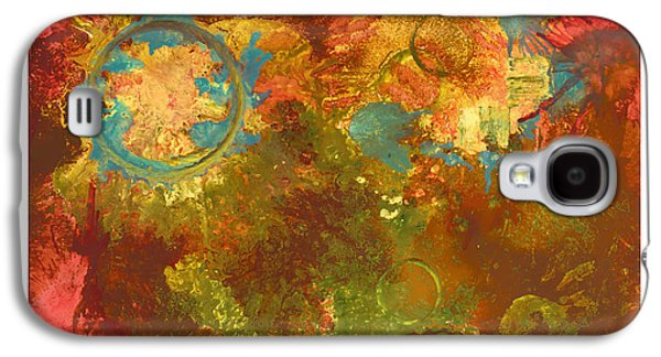Abstract Digital Paintings Galaxy S4 Cases - Cooked Goodness Galaxy S4 Case by Craig Tinder