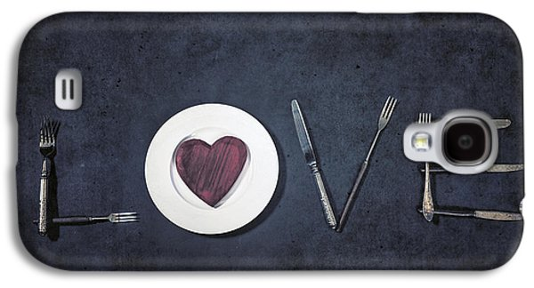 Love Galaxy S4 Cases - Cooking With Love Galaxy S4 Case by Joana Kruse