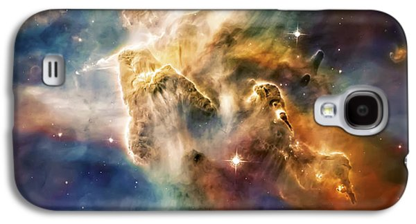 Recently Sold -  - Abstract Nature Galaxy S4 Cases - Cool Carina Nebula Pillar 4 Galaxy S4 Case by The  Vault - Jennifer Rondinelli Reilly