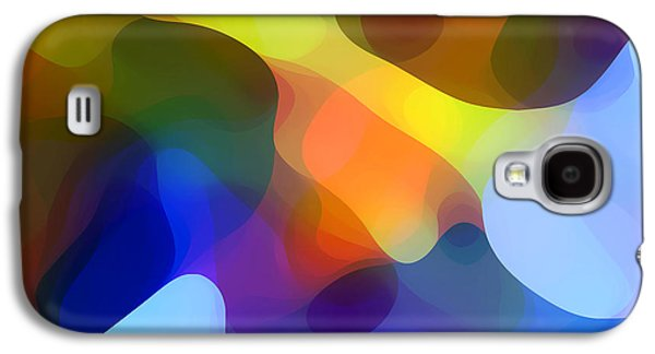 Abstract Forms Digital Galaxy S4 Cases - Cool Dappled Light Galaxy S4 Case by Amy Vangsgard