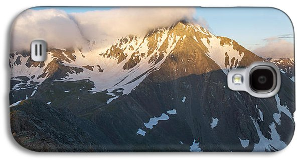 Unique View Galaxy S4 Cases - Cool Whip - Mountain Sunrise Galaxy S4 Case by Aaron Spong