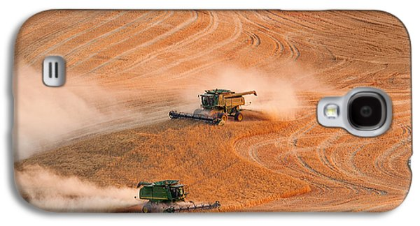 Machinery Galaxy S4 Cases - Cooperation Galaxy S4 Case by Mary Jo Allen