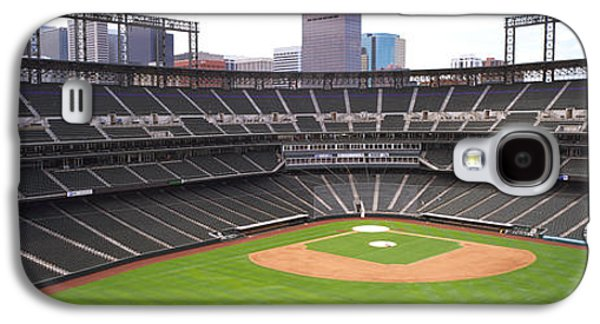 Sports Photographs Galaxy S4 Cases - Coors Field Denver Co Galaxy S4 Case by Panoramic Images