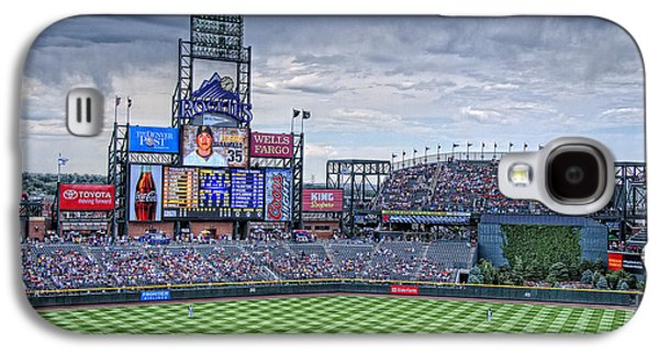 Old Pitcher Galaxy S4 Cases - Coors Field Galaxy S4 Case by Ron White
