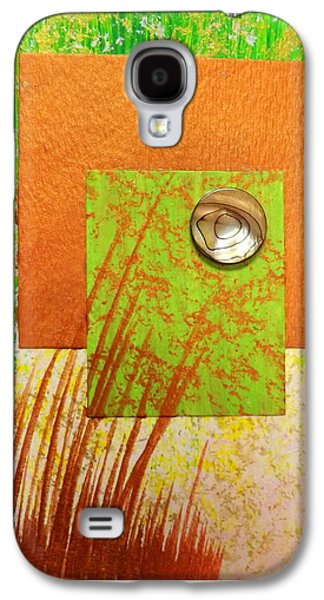 Sunset Abstract Galaxy S4 Cases - Copper Sunset Galaxy S4 Case by Darren Robinson