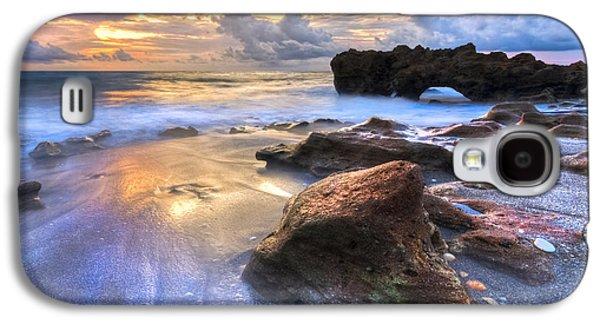 Landscapes Photographs Galaxy S4 Cases - Coral Garden Galaxy S4 Case by Debra and Dave Vanderlaan