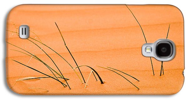 Fall Grass Galaxy S4 Cases - Coral Pink Sands 1 Galaxy S4 Case by Adam Romanowicz
