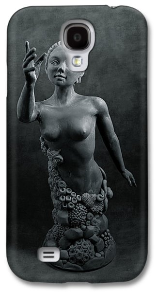Nudes Sculptures Galaxy S4 Cases - Coral Siren Galaxy S4 Case by Sheryl Westleigh