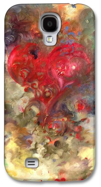 Nature Center Paintings Galaxy S4 Cases - Food For The Poor Galaxy S4 Case by Julio R Lopez Jr