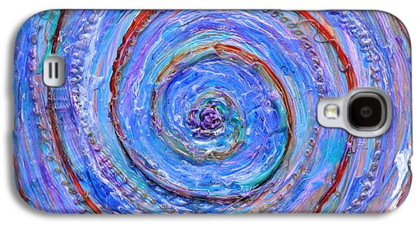 Weathered Reliefs Galaxy S4 Cases - Coriolis 3 Galaxy S4 Case by Regina Valluzzi