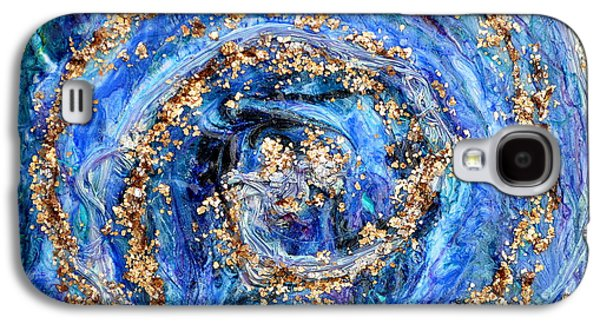 Weathered Reliefs Galaxy S4 Cases - Coriolis 4 Galaxy S4 Case by Regina Valluzzi