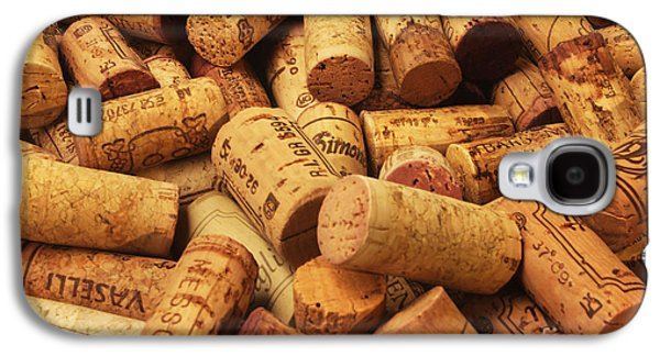 Vino Photographs Galaxy S4 Cases - Corks Galaxy S4 Case by Stefano Senise