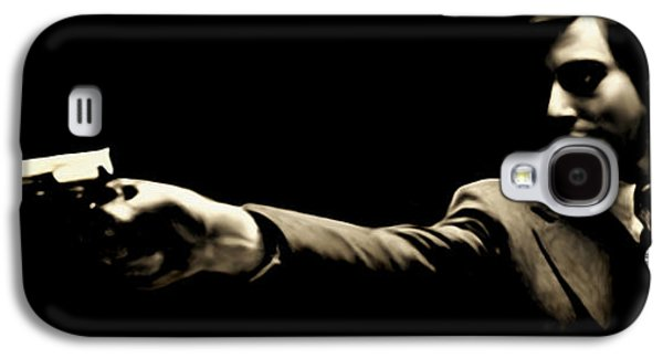 Corleone Galaxy S4 Case by Laurence Adamson