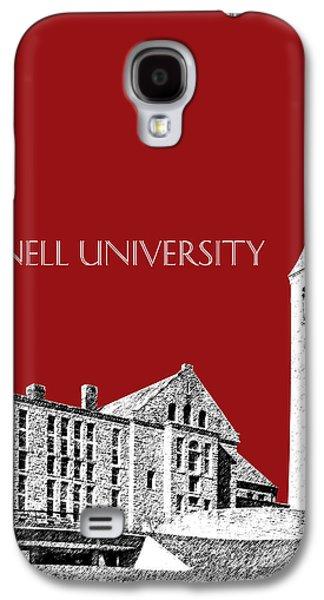 Cornell University - Dark Red Galaxy S4 Case by DB Artist