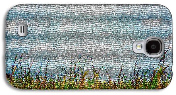 Original Art Photographs Galaxy S4 Cases - Cornfield Galaxy S4 Case by Tina M Wenger