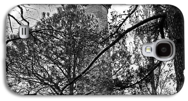 Transportation Photographs Galaxy S4 Cases - Corolla Lighthouse Monochrome Galaxy S4 Case by Dawn Gari
