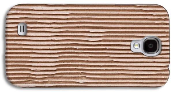 Cardboard Galaxy S4 Cases - Corrugated cardboard Galaxy S4 Case by Tom Gowanlock