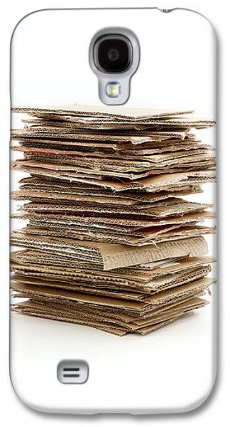 Cardboard Galaxy S4 Cases - Corrugated fiberboard Galaxy S4 Case by Fabrizio Troiani