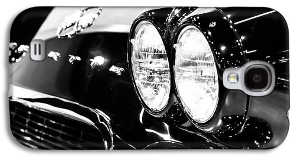 Sports Photographs Galaxy S4 Cases - Corvette Picture - Black and White C1 First Generation Galaxy S4 Case by Paul Velgos