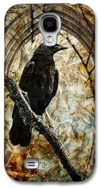 Judy Wood Galaxy S4 Cases - Corvid Arch Galaxy S4 Case by Judy Wood