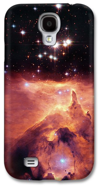 Outer Space Galaxy S4 Cases - Cosmic Cave Galaxy S4 Case by The  Vault - Jennifer Rondinelli Reilly
