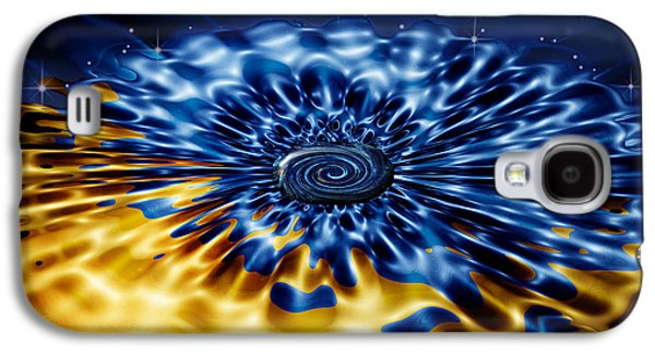 Art166 Galaxy S4 Cases - Cosmic Confection Galaxy S4 Case by Wendy J St Christopher