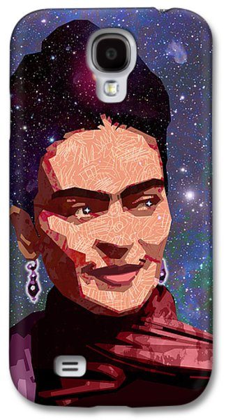 Diego Rivera Galaxy S4 Cases - Cosmic Frida Galaxy S4 Case by Douglas Simonson